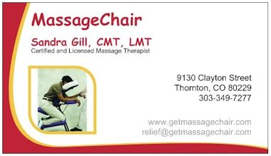 MassageChair Business Card